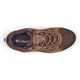 Columbia Redmond V2 WP Zapatillas Mujer, espresso MHW/deep ocean